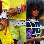 Thời trang - Những cô gái rạng rỡ bên lề Milan FW