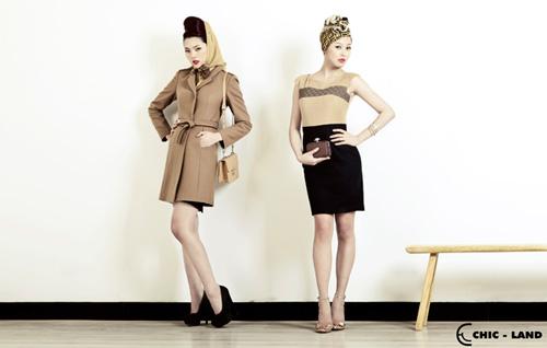 Chic-Land ra mắt BST thu đông 2012 - 2