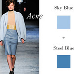 Thời trang - Cùng màu xanh tỏa sáng ngày thu