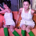 Ngôi sao điện ảnh - Trương Bá Chi lại vô ý hớ hênh