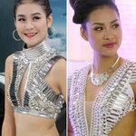 Thời trang - Hà Phương đọ sexy với Vương Thu Phương