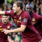 Bóng đá - Dzeko: Nước cờ cao tay của Mancini?