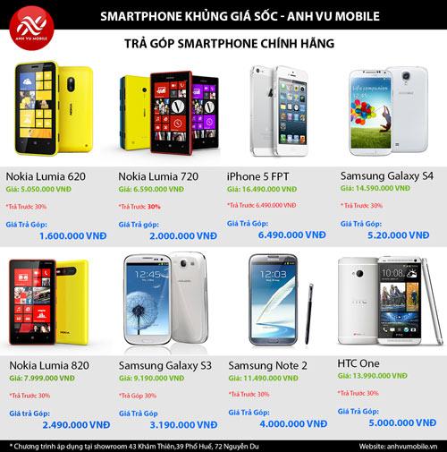 Smartphone chính hãng giá siêu rẻ tại Anhvumobile - 2
