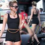Thời trang - Miley Cyrus mắc lỗi với bodysuit bó sát