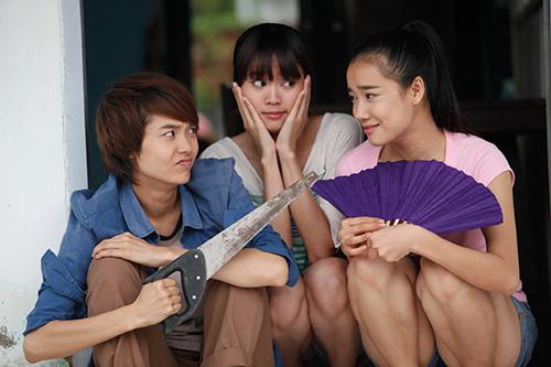 """Minh Hằng bị gái đẹp """"xáp lá cà"""" - 13"""