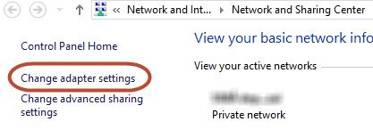 Windows 8: Xử lý lỗi Limited khi kết nối Internet - 5