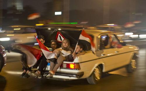Đảo chính quân sự ở Ai Cập qua ảnh - 5