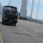 Tin tức trong ngày - Te tua mặt cầu dây võng dài nhất Việt Nam