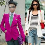 Thời trang - Chọn và mix áo blazer cho thời trang hè