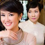Ngôi sao điện ảnh - Mỹ Linh ngượng ngùng bên Hồng Nhung