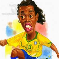 Hài bóng đá: Ronaldinho ly dị vợ