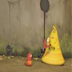 Video Clip Cười - Phim hoạt hình Larva: Pizza
