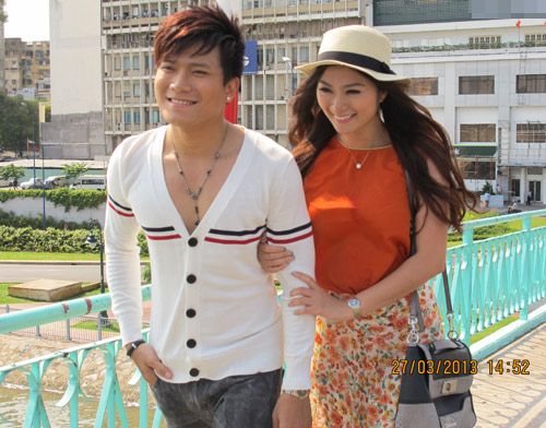 Khang Việt cạnh tranh Phùng Ngọc Huy, Ca nhạc - MTV, Khang Viet, Phung Ngoc Huy, Thanh Truc, em trai Hong Ngoc, MV, nguoi thu ba, dieu anh can noi, cuop nguoi yeu, tin tuc