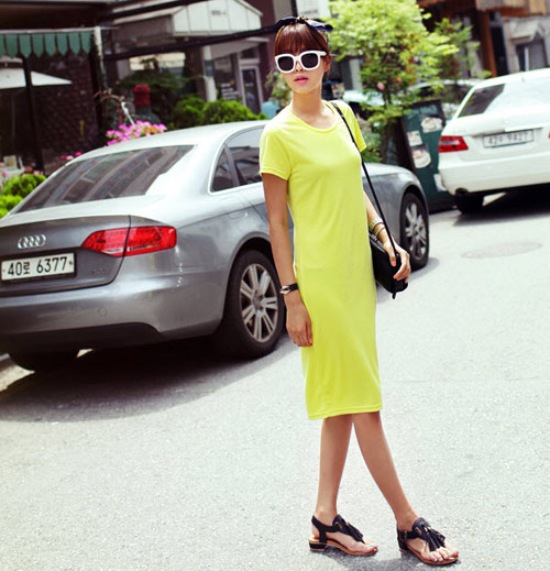 Mách bạn mặc màu vàng chanh đầy sức sống - 13