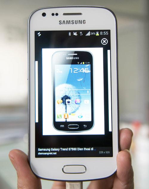 Samsung ra mắt Galaxy Trend giá mềm - 1