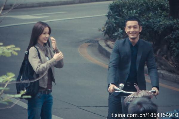 Phim của Huỳnh Hiểu Minh và bạn gái gây sốt - 4