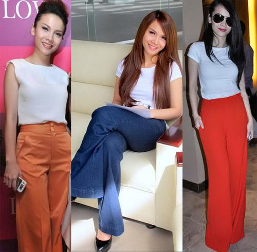 Sao Việt mặc quần cũng rất gợi cảm - 13
