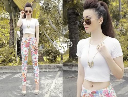 Sao Việt mặc quần cũng rất gợi cảm - 5