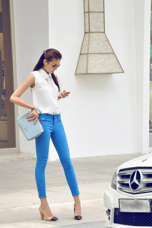 Sao Việt mặc quần cũng rất gợi cảm - 11