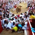 Tin tức trong ngày - Ảnh: Lễ hội bò tót đầy gay cấn ở Tây Ban Nha