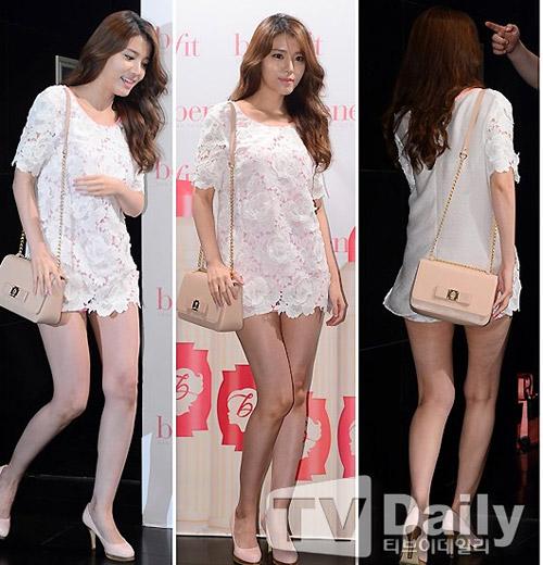 Hoa hậu Hàn Quốc hóa vũ nữ nóng bỏng - 11