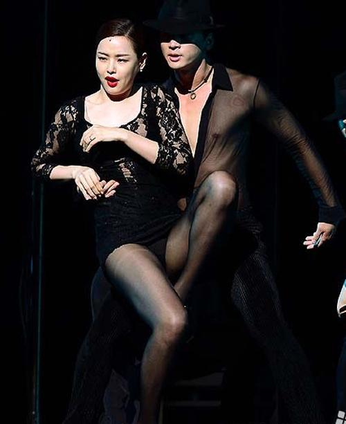 Hoa hậu Hàn Quốc hóa vũ nữ nóng bỏng - 8