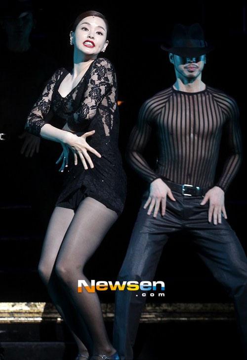 Hoa hậu Hàn Quốc hóa vũ nữ nóng bỏng - 3