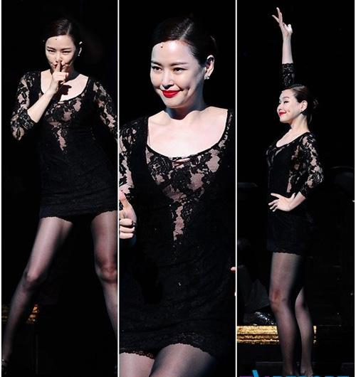 Hoa hậu Hàn Quốc hóa vũ nữ nóng bỏng - 5