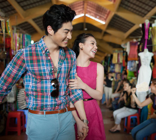 Trai Hàn hát tiếng Việt tặng Trà Ngọc Hằng - 18