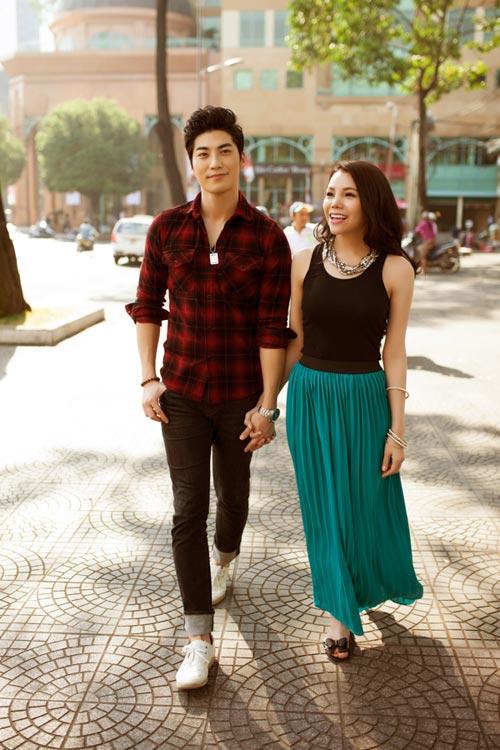Trai Hàn hát tiếng Việt tặng Trà Ngọc Hằng - 4