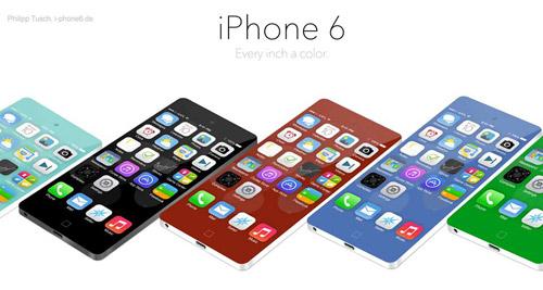 iPhone 6 Concept màn hình không viền cực đẹp - 1