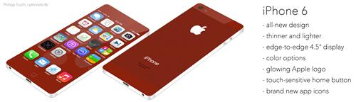 iPhone 6 Concept màn hình không viền cực đẹp - 2