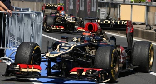 F1 - German GP: Phía sau vạch đích - 1