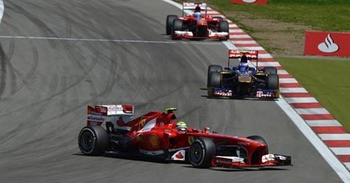 F1 - German GP: Phía sau vạch đích - 2