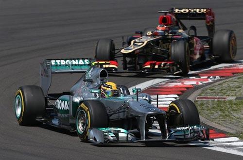 F1 - German GP: Phía sau vạch đích - 3