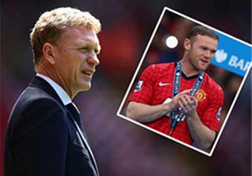 David Moyes quyết giữ Rooney - 1