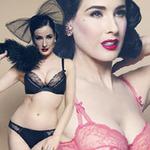 Thời trang - Dita Von Teese phô diễn vòng eo tuổi 40