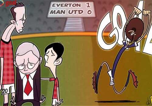 Hài bóng đá: CĐV Everton & thần đèn - 1