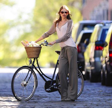Hãy ăn vận sành điệu khi đi xe đạp! - 5