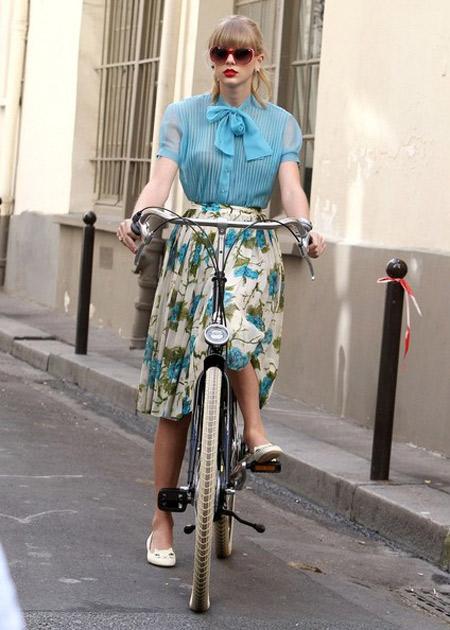 Hãy ăn vận sành điệu khi đi xe đạp! - 3
