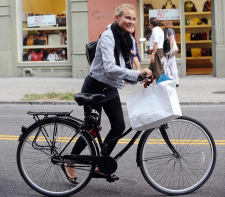 Hãy ăn vận sành điệu khi đi xe đạp! - 12