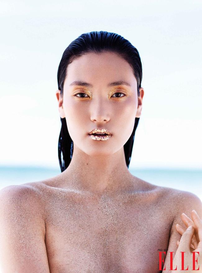 Vừa qua, viên ngọc mới của Châu Á trong làng người mẫu thế giới Lina Zhang đã sang Việt Nam và thực hiện bộ ảnh beauty cho tạp chí thời trang Việt Nam.