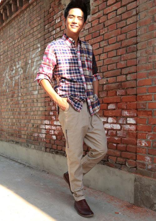 Phối hợp quần khaki đẹp và nam tính - 9