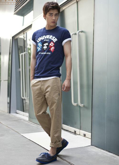 Phối hợp quần khaki đẹp và nam tính - 5