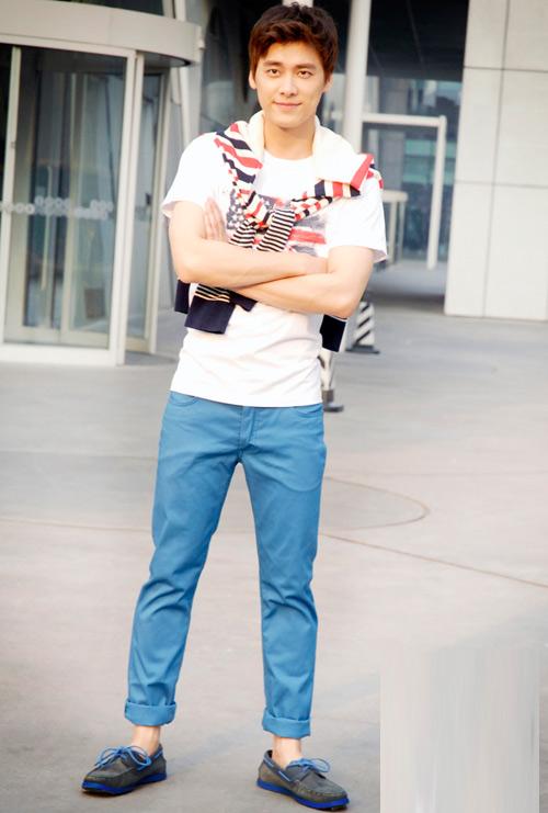 Phối hợp quần khaki đẹp và nam tính - 3