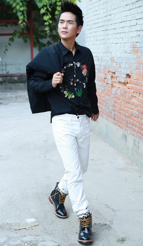 Phối hợp quần khaki đẹp và nam tính - 6