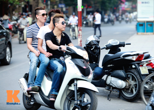 Giới trẻ vô ý thức tham gia giao thông - 5