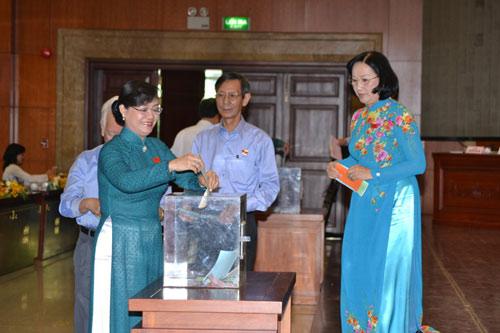 Kết quả lấy phiếu tín nhiệm lãnh đạo TP.HCM - 1