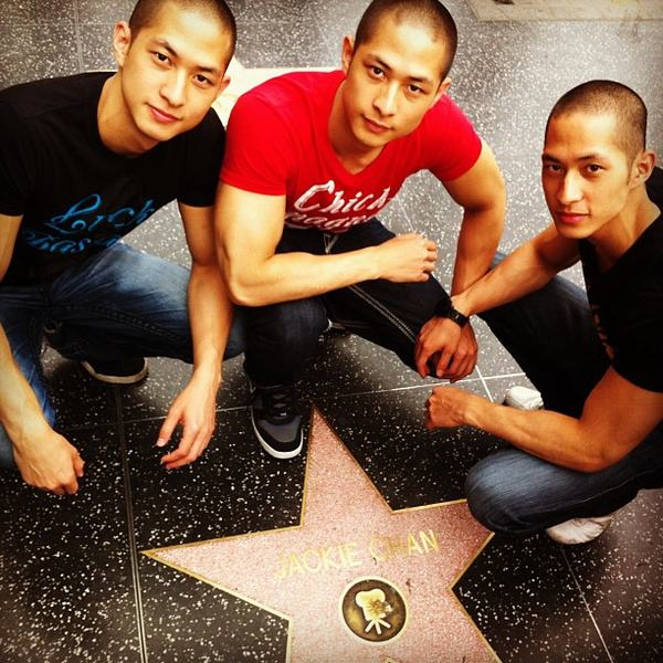 Ba anh em gốc Việt trong vòng vây fan - 4