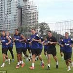 Bóng đá - Đến Thái Lan, MU lao ngay vào tập luyện